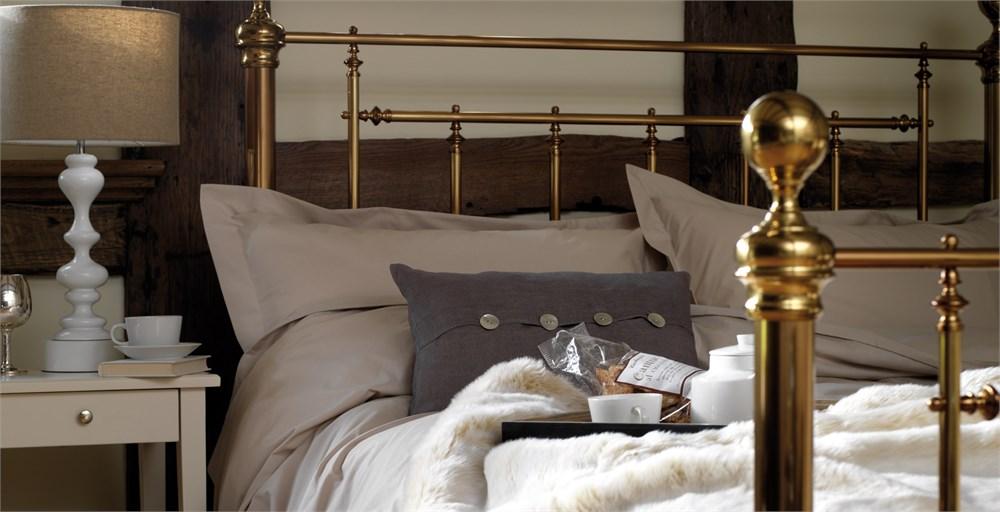 Henley Bed Brass